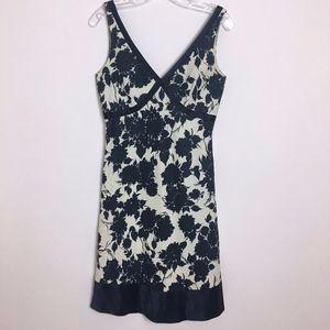 J. CREW linen & silk dress size 4 women's